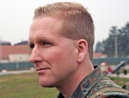 Als Gebirgsjägeroffizier beim Militär